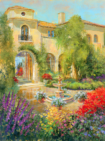 michael-longo-spanish-courtyard-ii