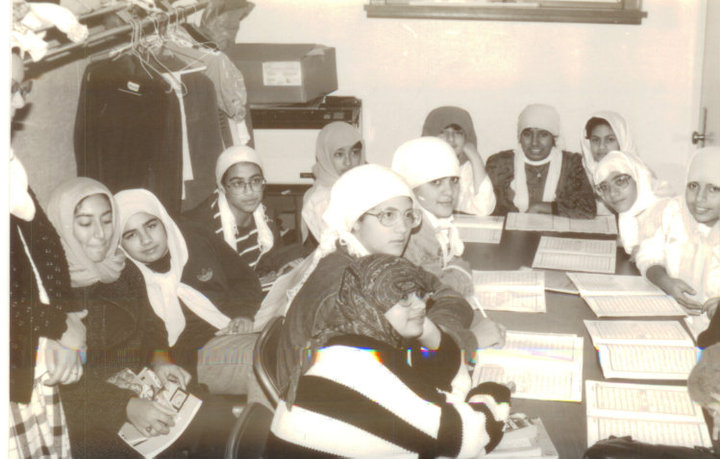 A class at ICCD. Try spotting me :) via Usama Chaudhry