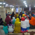 Eid prayers in separate hall for sisters