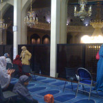 At Regents Park Mosque during Ramadan